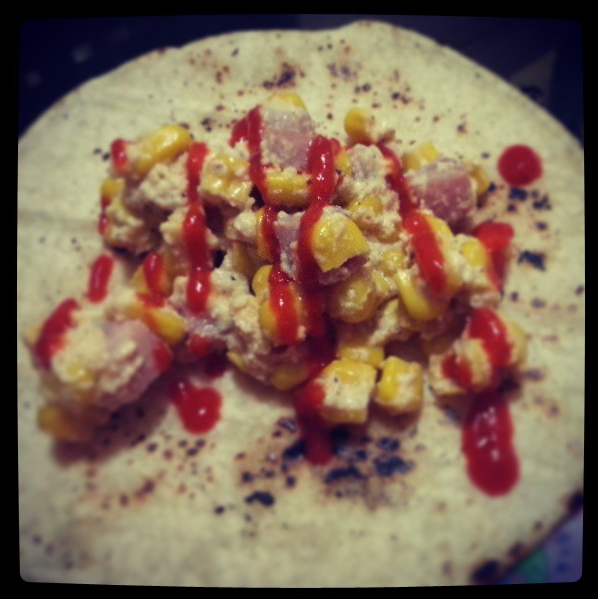 Corn Eggless Hash
