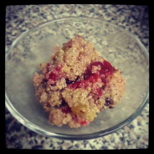 Berry Fruity Quinoa