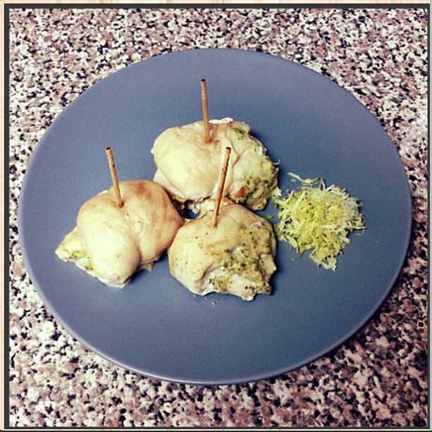 Chicken Rollatini Bites